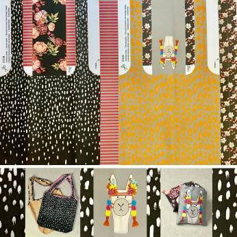 My lovely shopping bag by Cherry Picking | 2er Set